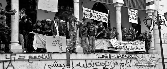 TUNISIA REVOLUTION PROTEST
