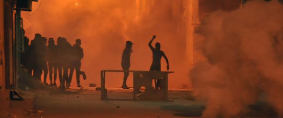 TUNISIA DEMONSTRATIONS