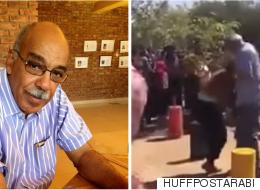 مقطع فيديو لرئيس جامعة سودانية يعتدي على طالبتين يثير ردود فعل غاضبة