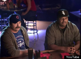 Nick Offerman Craig Robinson Cubs Sox New Era
