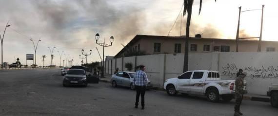 LIBYE AEROPORT MITIGA COMBATS TRIPOLI