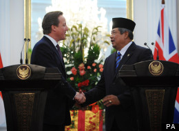 David Cameron Indonesia