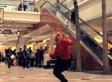 'Dance Like Nobody's Watching': Actress Angela Trimbur Breaks It Down In Crowded Mall (VIDEO)