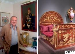 آخر ملوك مصر يعلق على واقعة سرقة مقتنيات الغرفة الملكية.. وهذا تاريخها