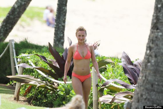 Hayden Panettiere Bikini Actress Spotted Kissing