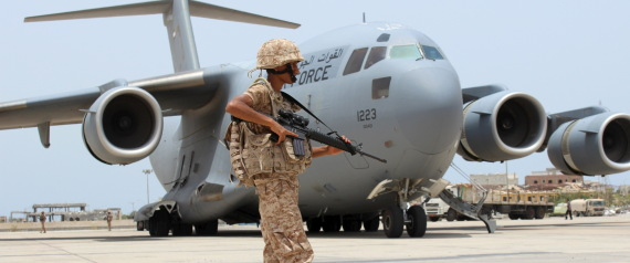 UAE FORCES IN ADEN