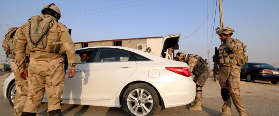 IRAK SOLDIERS