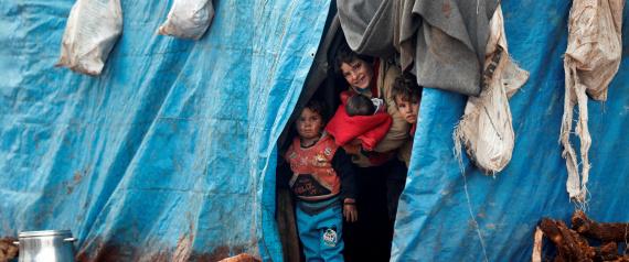 SYRIA IDLIB REFUGEES