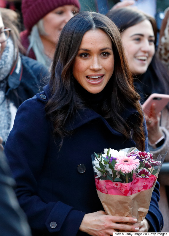 harry and meghan flower