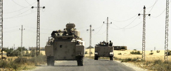 EGYPTIAN FORCES IN SINAI
