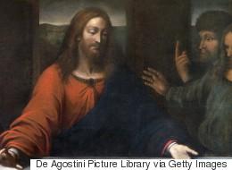 ماذا تناول المسيح في لوحة
