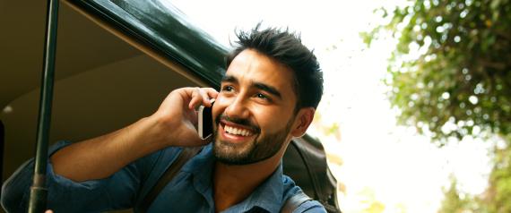 TALKING CELLULAR PHONE