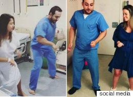 طبيب يبتكر طريقة جديدة لتخفيف آلام الولادة.. الرقص مع الأمهات على Despacito  مثلاً؟! شاهد كيف