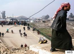 كأنه تسونامي.. ماذا فعل شباب الموصل في الدقائق الأولى بعد انسحاب داعش؟