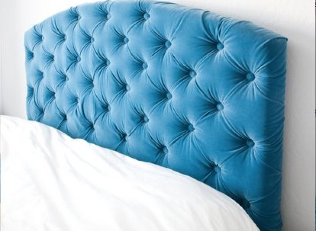 Diy idea make your own tufted headboard huffpost How to make your own headboard
