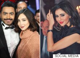 مريم حسين تحسم الجدل بشأن رفض تامر حسني التقاط الصور معها بطلب من بسمة بوسيل