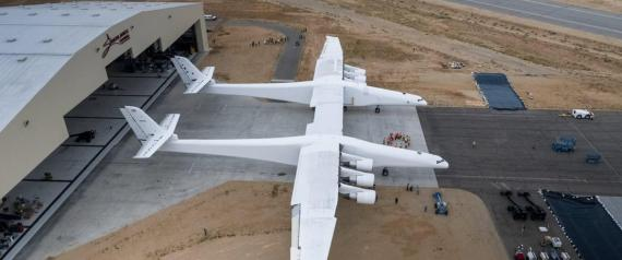 BIGGEST PLANE STRATOLAUNCH