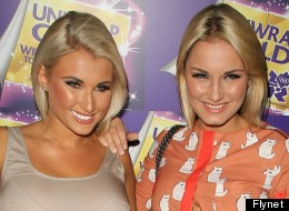 VB Will Not Be Pleased! Sam Faiers Wears Faux Victoria Beckham Dress