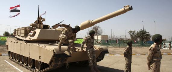 M1A1 ABRAMS TANKS IRAQ