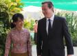 Burma's Aung San Suu Kyi Welcomes David Cameron's Call For Suspension Of Sanctions