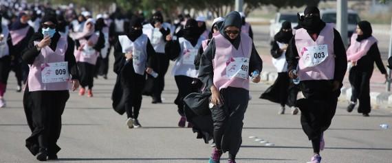 1 500 femmes ont participé à une course à pied en Arabie saoudite