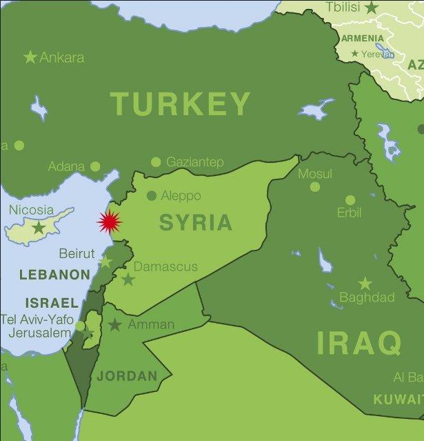 Un avion militaire russe s'écrase sur une base aérienne — Syrie