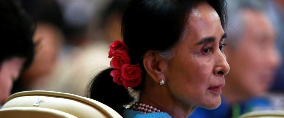MYANMARS LEADER AUNG SAN SUU KYI