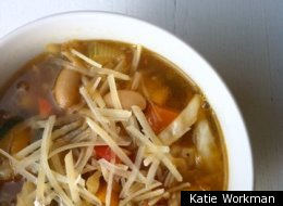 Fork-In-The-Road Simplest Vegetable Soup
