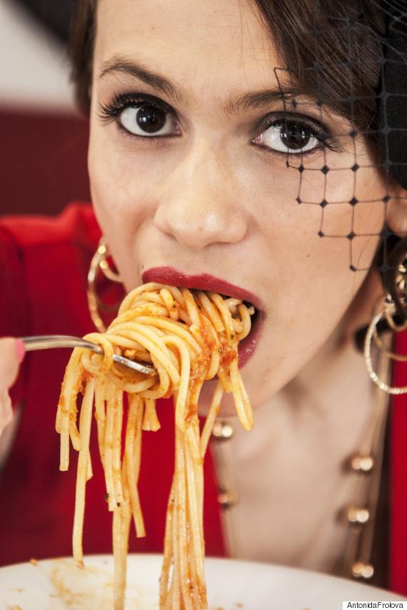 pasta woman