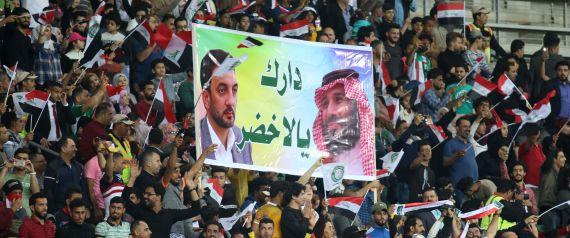 SAUDI IRAQ FOOTBALL