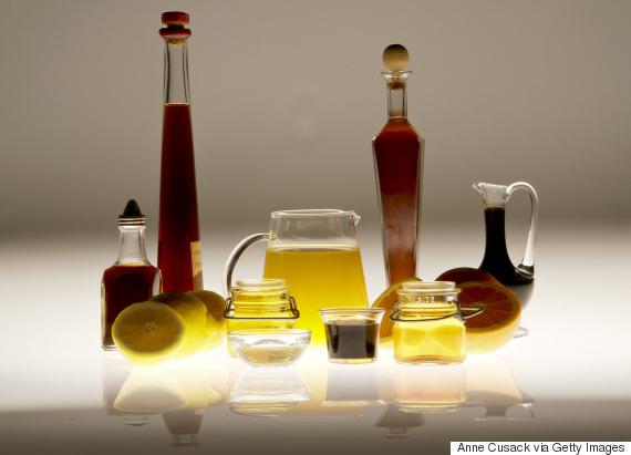vinegar apple