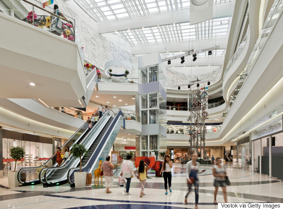 mall inside