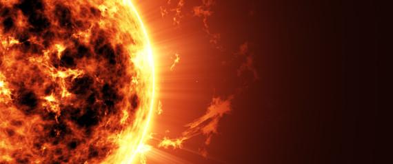 SUN EARTH DANGER