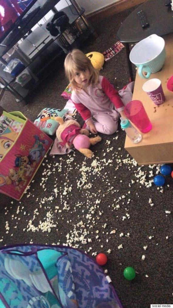 استيقظت الابنة فجراً وخرَّبت المنزل.. أمٌّ بريطانية تعرض طفلتها للبيع وتحذّر الزبون!