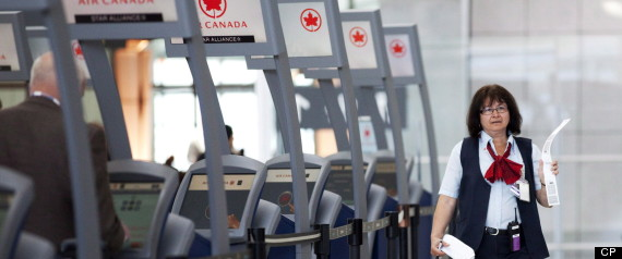 AIR CANADA STRIKE SICK PILOTS ILLEGAL BACK TO WORK