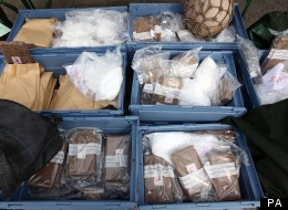 Cocaine Siezed Haul Uk Border Force