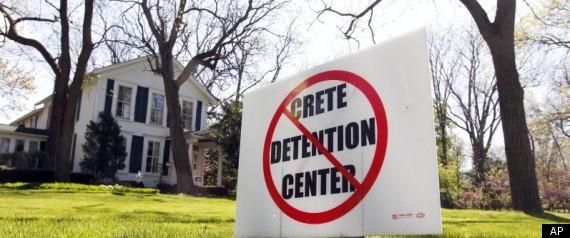 CRETE IMMIGRANT DETENTION CENTER CONTRACTORS