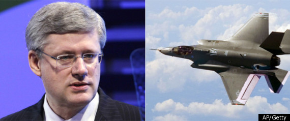 F35 FIGHTER JETS STEPHEN HARPER
