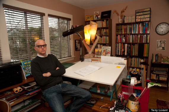 Modern Cartoonist The Art Of Daniel Clowes At The