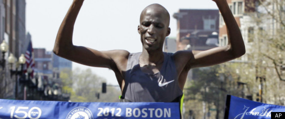 WESLEY KORIR BOSTON MARATHON FINISH