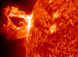 Solar Flare VIDEO Shows Huge Eruption From Sun's Surface
