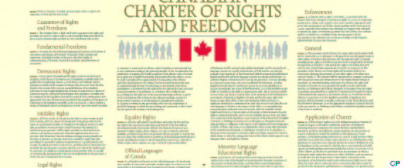 "the charter of rights and freedom and its affect on canada essay ""the great themes of canadian history are as follows: keeping the americans out ,  ""it affects first nations people from cradle to grave,"" said daschuk  signed  canada's constitution and its charter of rights and freedoms."