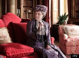 Dame Maggie Smith Downton