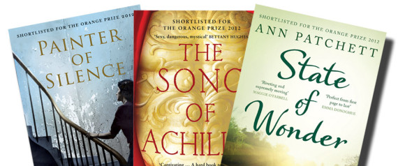 ORANGE BOOK PRIZE SHORTLIST 2012