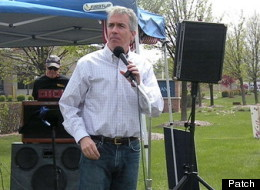 Joe Walsh Tea Party Tax Day