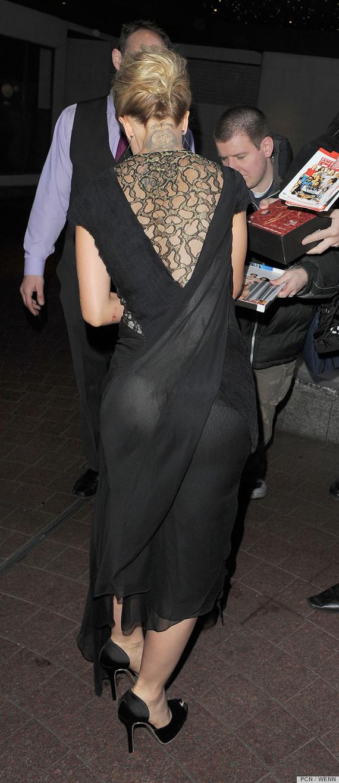 Mena Suvari Butt Exposed In Sheer Dress? (PHOTOS)