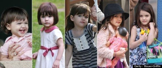 SURI CRUISE BIRTHDAY