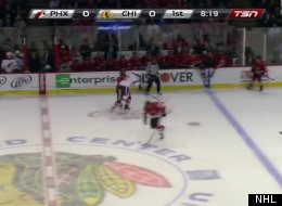 Marian Hossa Injury Video