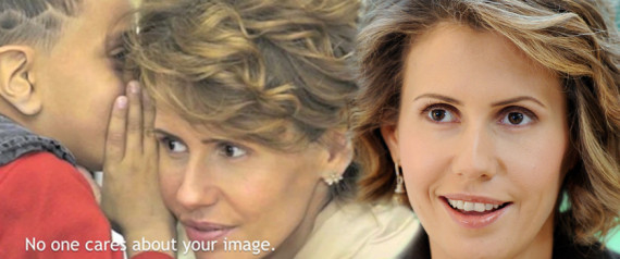 ASMA ASSAD SPLASH
