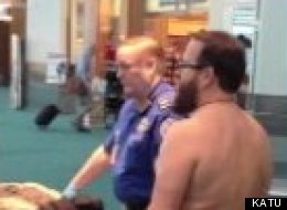 Man Strips Airport
